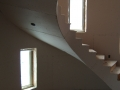 Kelowna, B.C. - Framed Spiral Staircase (Two Floors) Drywalled