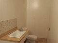 South, Edmonton - Full Basement Bathroom Renovation including moving roughed in plumbing