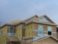Framing of West Side Edmonton Home